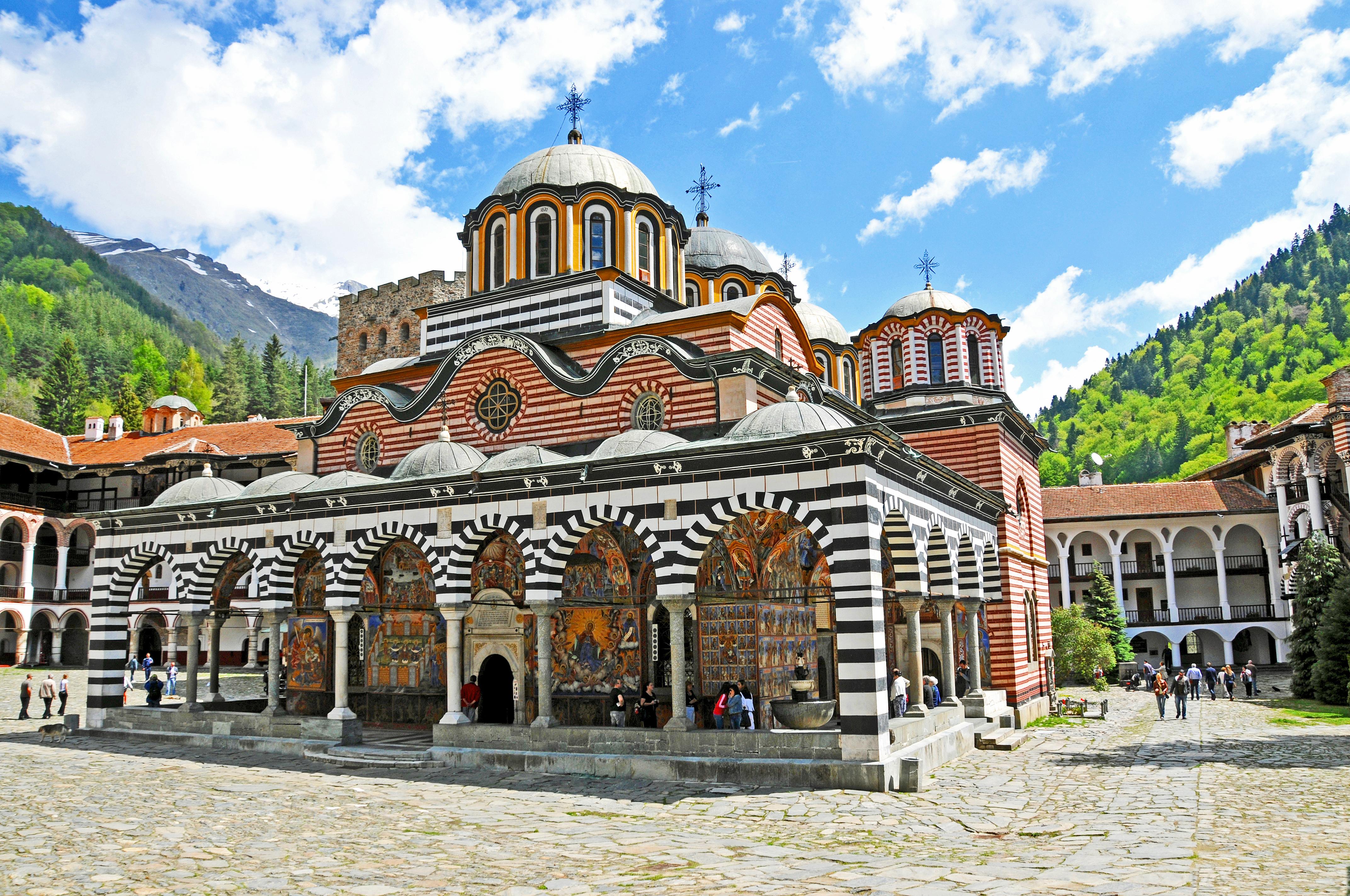 Multi-countries Tours Balkan 2019. Rila monastery trips